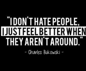 quote, people, and charles bukowski image