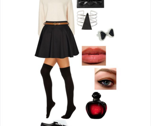 beauty, couple, and Polyvore image