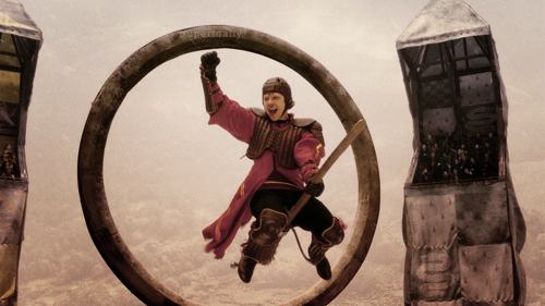 harry potter, ron weasley, and quidditch image