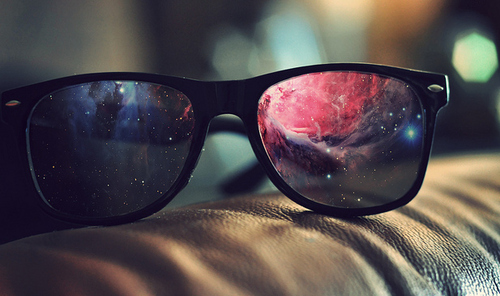 <3, artsy, and glasses image