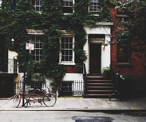 house, vintage, and city image
