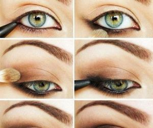 beautiful, Easy, and eyemakeup image