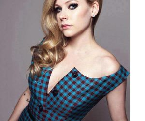 Avril Lavigne, beautiful, and music image