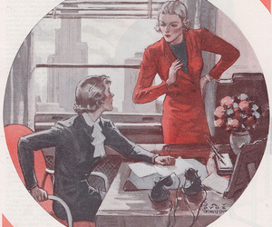 business, vintage, and 1930's image