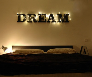 bed, dreams, and relax image