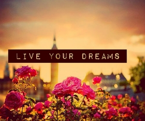 Dream, flowers, and life image
