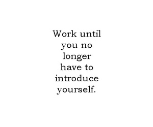 quotes, work, and motivation image