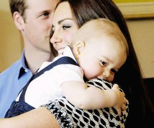 baby, prince george, and william image
