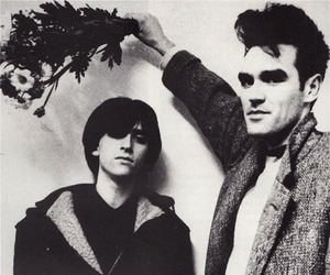 morrissey, the smiths, and johnny marr image