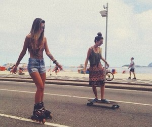 amazing, beach, and board image