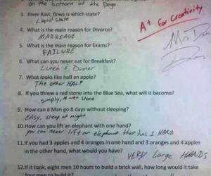 funny, test, and lol image