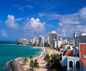 beach, paradise, and puerto rico image