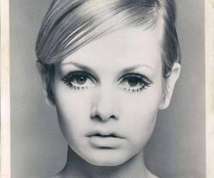 twiggy, model, and 60s image