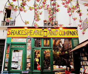 bookstore, shop, and shakespeare and company image