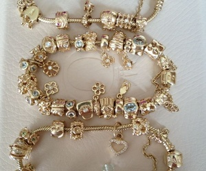 arm candy, gold, and luxury image
