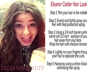 hair, style, and eleanor calder image