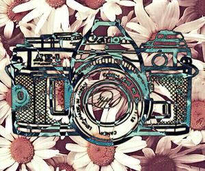 background, camera, and colors image