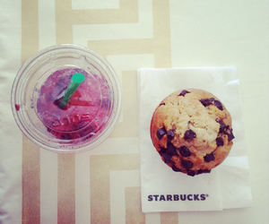 muffin, parfait, and starbuck image