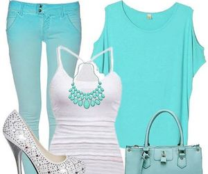 blue, girly, and perfect image
