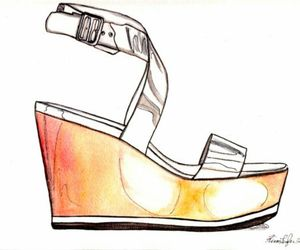 fashion, fashion illustration, and illustration image