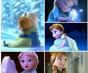 frozen, anna, and girl image