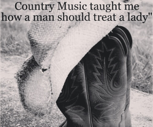 country, boots, and quote image