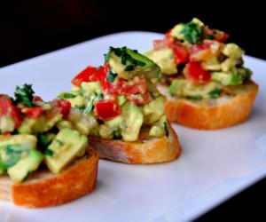 food and bruschetta image