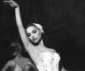 black swan, natalie portman, and ballet image