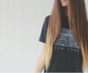 fashion, hair, and long hair image