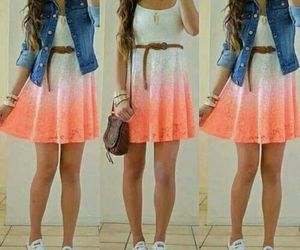 happy and outfit image