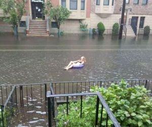 cool, flood, and rain image