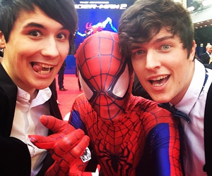spider-man, youtube, and danisnotonfire image