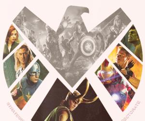 Hulk, loki, and iron man image