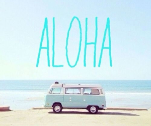 Aloha, baby, and blue image