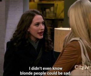 funny, blonde, and 2 broke girls image