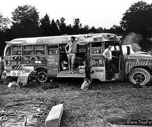 60's, guy, and magic bus image