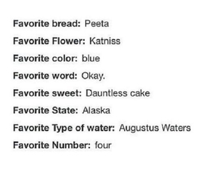 four, looking for alaska, and the hunger games image