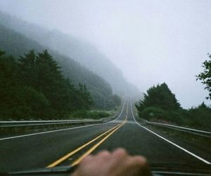 road, car, and travel image