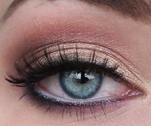 eye makeup, sleek, and smokey eyes image