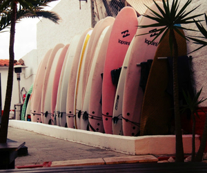 summer, surf, and girly image