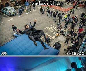 bbc, funny, and sherlock image