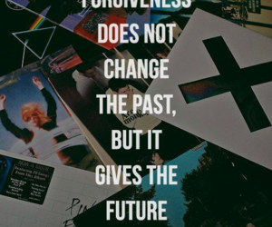 quote, chance, and forgive image