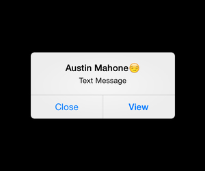 Austin, close, and message image
