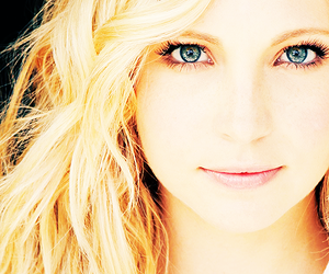 candice accola, blonde, and eyes image