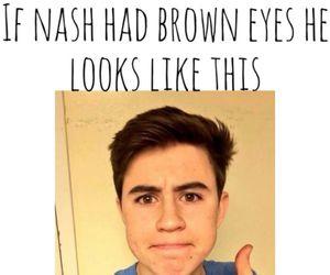 brown eyes, nash, and nash grier image