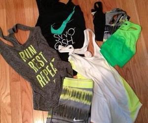 nike, run, and workout image