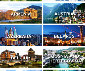 travel, austria, and belgium image