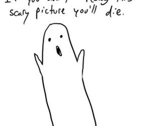 funny and ghost image