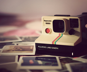 camera, polaroid, and photography image