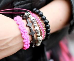 bracelet, fashion, and girl image